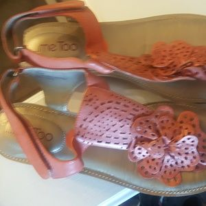 Me Too Shoes - New, Me Too Flip Flop Sandals Salmon Pink 9.5 M